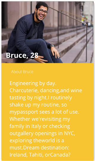 bumble profile bio