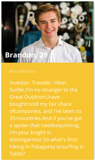 bio for bumble