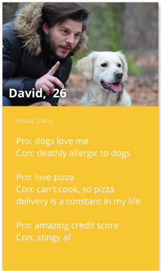 Bumble profile bio for guys